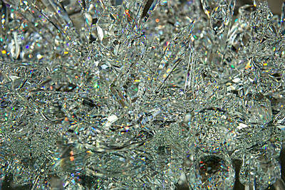 Fused Photograph - Sparkle by Kathy Bassett