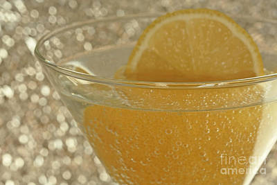 Sparkling Citrus Moments Print by Inspired Nature Photography Fine Art Photography