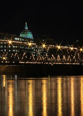 Susquehanna River Photograph - Sparkling Night by Lori Deiter