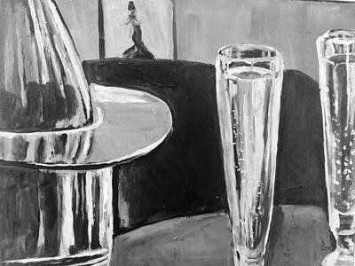 Sparkling Wine Print by Shannon Lee