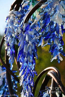 Photograph - Sparkling Wisteria  by Susan Herber