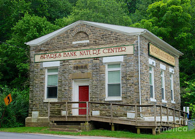 Photograph - Sparks Bank Nature Center by Mark Dodd