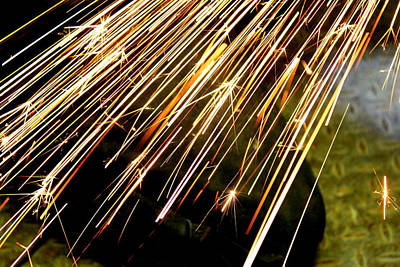 Photograph - Sparks by Trent Mallett