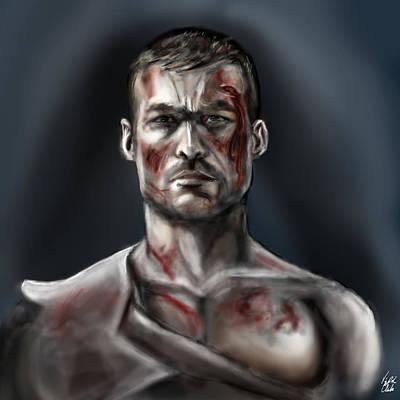 Spartacus Digital Art - Spartacus Champion Of Capua by Vinny John Usuriello