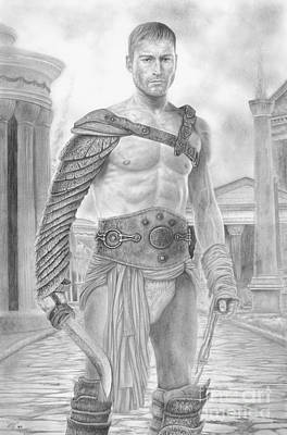 Spartacus Print by Wave