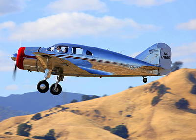 Photograph - Spartan 7w Executive Climbing Out Nc17665 by John King
