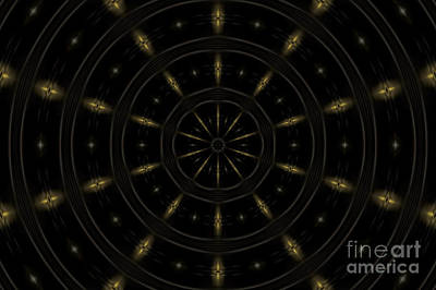 Sci-fi Photograph - Spatial Abstract Background Pattern by Jose Elias - Sofia Pereira