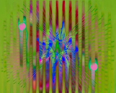 Byron Fli Walker Digital Art - Spatial by  Fli Art