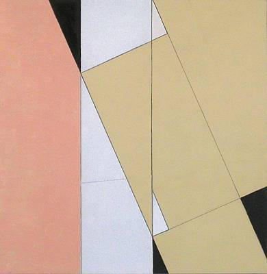 Rectangles Painting - Spatial Relationship by George Dannatt