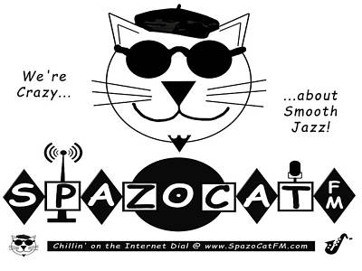 Photograph - Spazocat Fm Poster One by Tom DiFrancesca