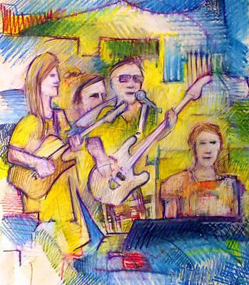 Spc Musicians Art Print
