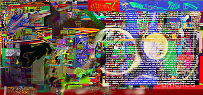 Speak To Hashem Art Print by David Baruch Wolk
