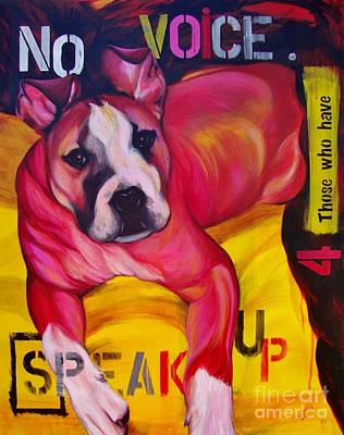 Painting - Speak Up by Lesley McVicar