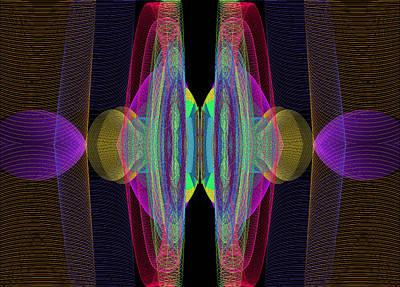 Digital Art - Speakers by Stephen Coenen