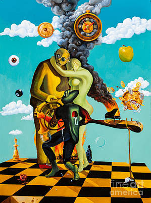Painting - Speaking About Dali by Igor Postash