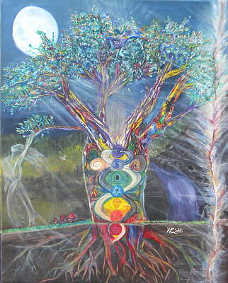 The Universe Painting - Speaks From The Heart by Kerry Ciotti