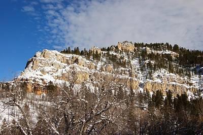 Photograph - Spearfish Canyon In Winter by Dakota Light Photography By Dakota