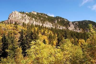 Photograph - Spearfish Canyon Ridge by Dakota Light Photography By Dakota
