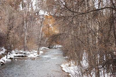 Photograph - Spearfish Creek In Winter by Dakota Light Photography By Dakota