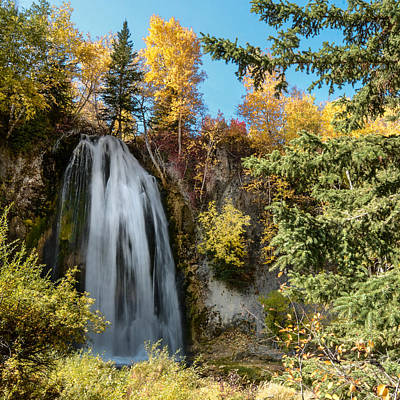 Photograph - Spearfish Falls Magic by Dakota Light Photography By Dakota