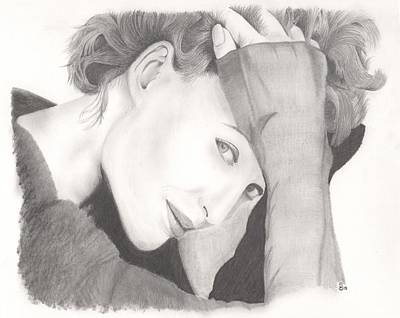Gillian Anderson Drawing - Special Agent by Stephen Brissette