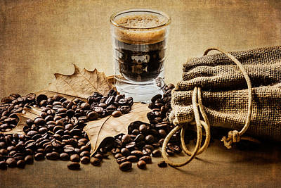 Photograph - Special Blend Coffee I by Marco Oliveira