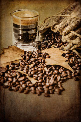 Photograph - Special Blend Coffee II by Marco Oliveira