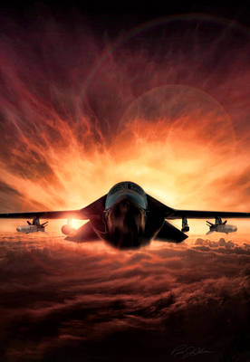 Special Delivery F-111 V2 Art Print