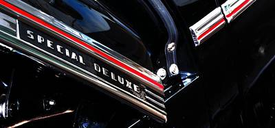 Chev Deluxe Auto Photograph - Special Deluxe 14780 by Jerry Sodorff