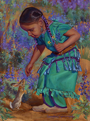 Painting - Special Encounter by Christine Lytwynczuk
