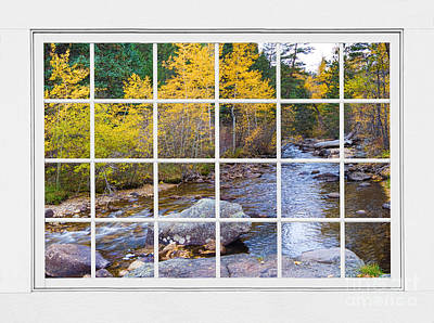 Landscape With Creek Photograph - Special Place In The Woods Large White Picture Window View by James BO  Insogna