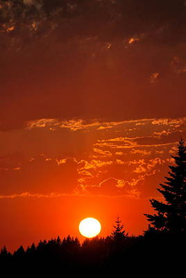Photograph - Spectacular Sunset I by Kathy Sampson