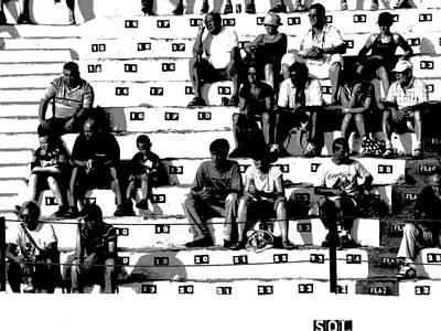 Photograph - Spectators by Jacqueline M Lewis