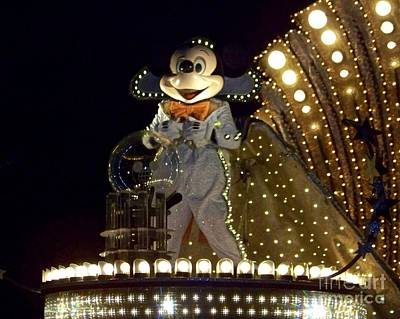 Photograph - Spectromagic Mickey by Carol  Bradley