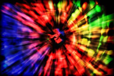 Spectrum Photograph - Spectrum Vortex by EXparte SE