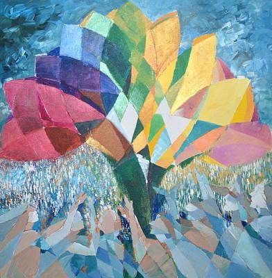 Painting - Spectrum  by Yogendra  Sethi