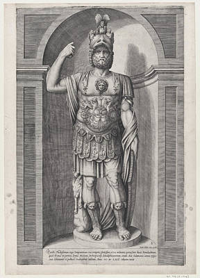 Jacob Bos Drawing - Speculum Romanae Magnificentiae King by Jacob