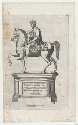 Speculum Romanae Magnificentiae Marcus Art Print
