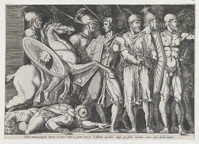 Speculum Romanae Magnificentiae Trajan Art Print
