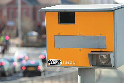 Carriageway Photograph - Speed Camera by Ashley Cooper