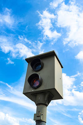 Police Traffic Control Photograph - Speed Camera by Frank Gaertner