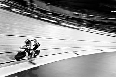 Velodrome Photograph - Speed Demon by David Pearce