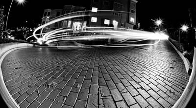 Speed In The Night Art Print by Gianfranco Weiss