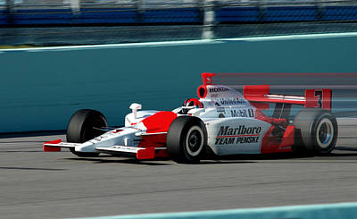 Indy Car Photograph - Speed Indy by Kevin Cable