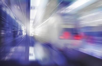 High Speed Photograph - Speed by Jenny Rainbow