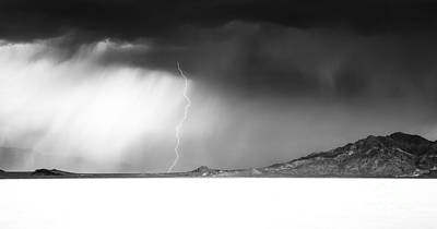 Bonneville Nationals Photograph - Speed Of Light- Bonneville Salt Flats by Holly Martin