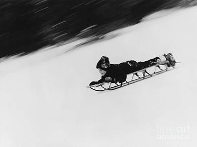 Photograph - Speed On Snow by Mark Avery
