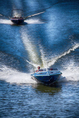 Photograph - Speed On The Water by Karol Livote