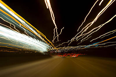 Motion Photograph - Speed by Sebastian Musial