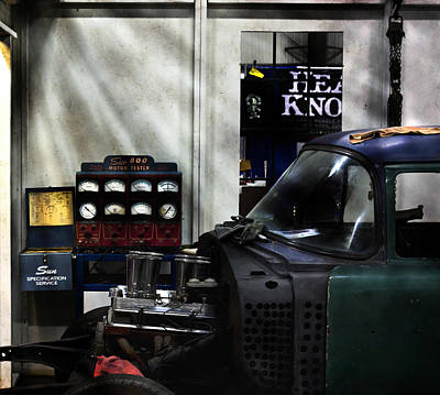 Street Rod Photograph - Speed Shop 1970 by Peter Chilelli